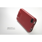 SGP Leather Case Argos Series [Red] for iPhone 4, 4S (SGP06831S)